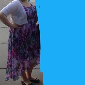 Lane Bryant high low dress